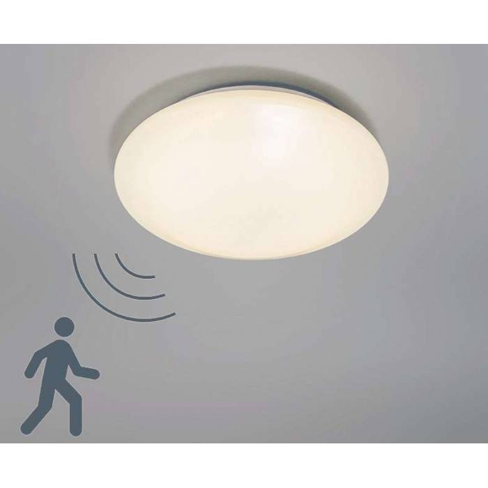 Abcled.ee - Ceiling light with PIR sensor 2x40W Е27