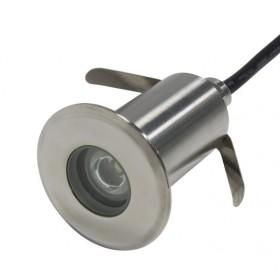 Abcled.ee - LED süvistatav 3W 6000K 10° DC24V IP68 purskkaevu