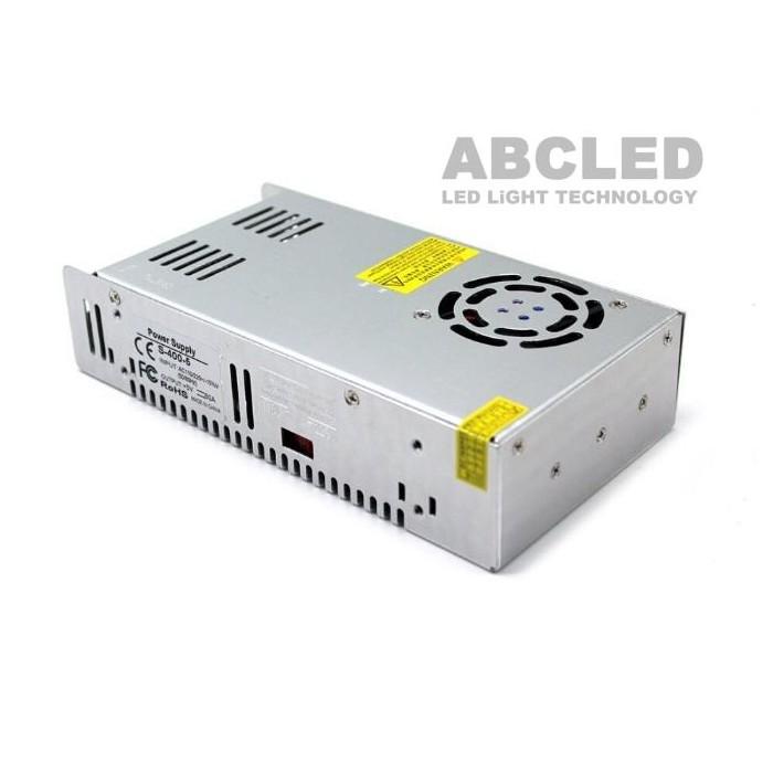 Abcled.ee - LED toiteplokk 5V 80A 400W