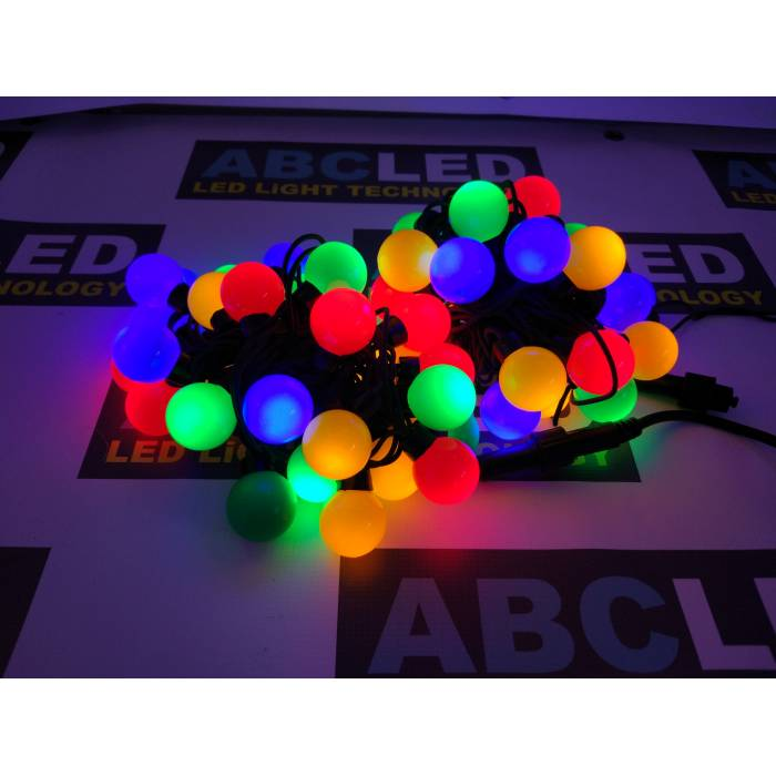 Abcled.ee - Christmas lights balls ∅35mm 28led 5m multicolour