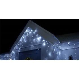 33979554eca LED valguskardinad «jääpurikad» 0,65mx7,5m+1,5m... LED valguskardinad « jääpurikad» 0,65mx7,5m+1,5m valge kaabliga külm valge