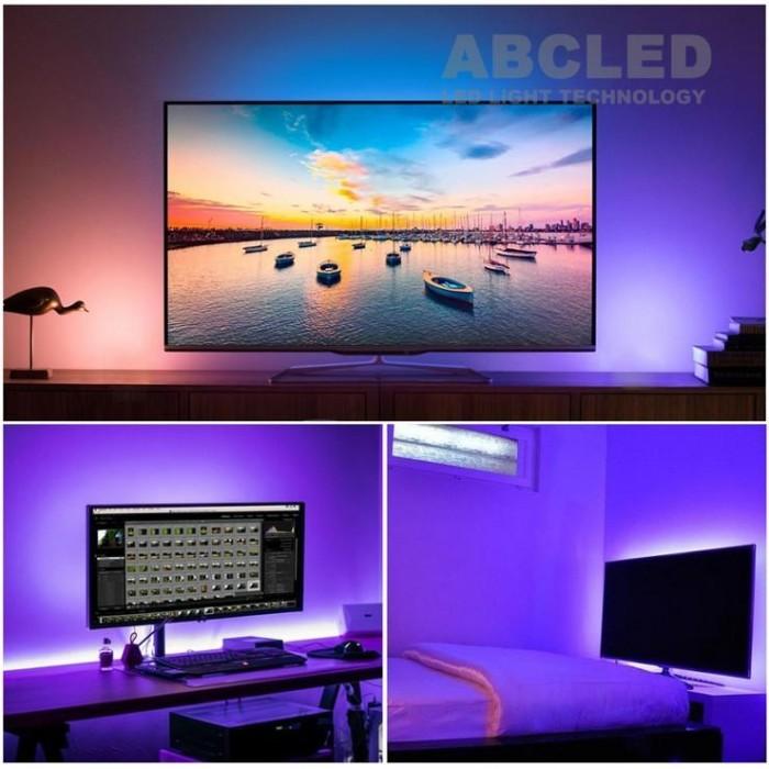 Abcled.ee - DC 5V 5050smd USB RGB LED Лента 30Led/m, 9W/m