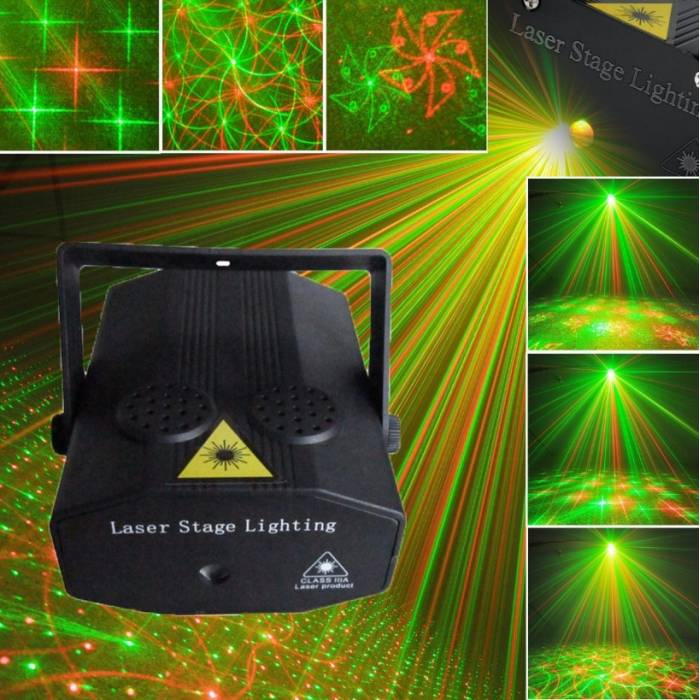 Abcled.ee - Laser sisseruumides projektor Disco Party