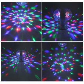 LED Pirn Disco alusega 2-side 6W RGB 220-240V