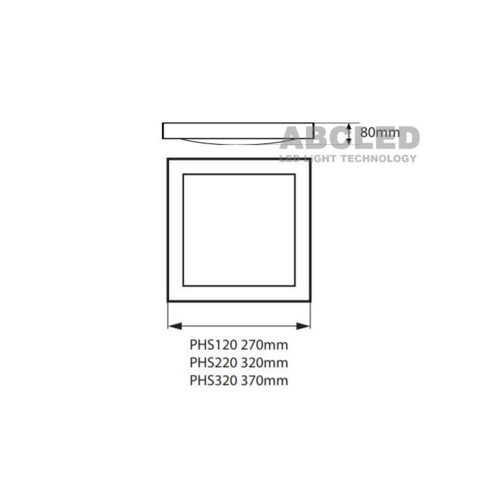 Abcled.ee - Светильник потолочный TOFIR PHS 1X20W E27