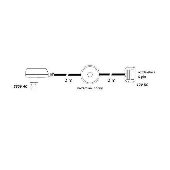 Abcled.ee - Led блок питания 1.8W 12V + выключатель +