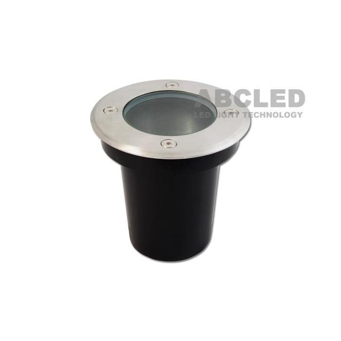 Abcled.ee - Maa valgusti korpus round 1xGU10, Ø100x100mm, IP66