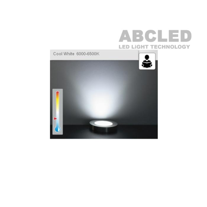 Abcled.ee - Led furniture light OVAL 2W 6000K