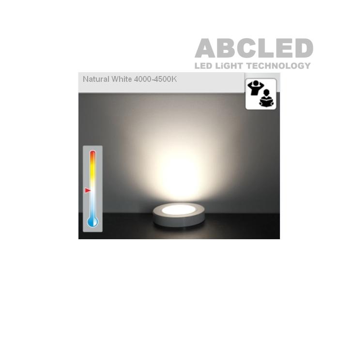Abcled.ee - Led furniture light OVAL 2W 3000K