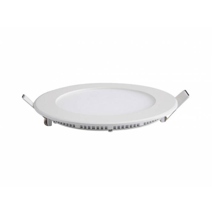 Abcled.ee - LED panel light round recessed 6W 3000K 480Lm IP20
