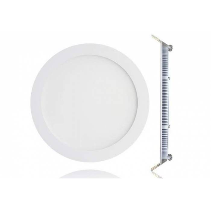 Abcled.ee - LED panel light round recessed 3W 6000K 240Lm IP20