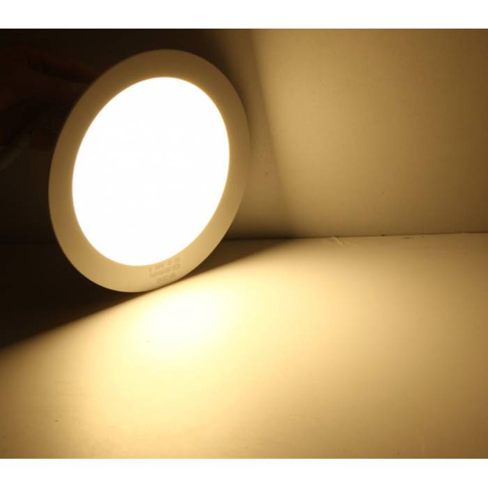 Abcled.ee - LED panel light round recessed 12W 6000K 960Lm IP20