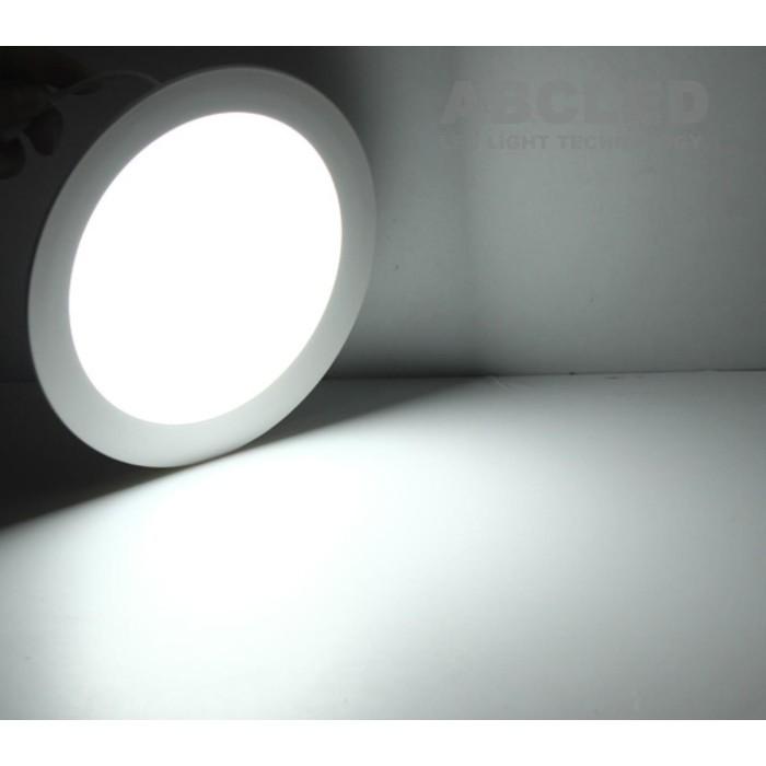 Abcled.ee - Led панель круглая встраиваемая 12W 6000K 960Lm