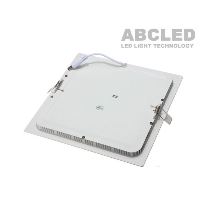 Abcled.ee - Led панель квадратная встраиваемая 12W 6000K 960Lm