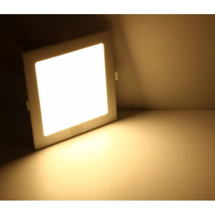 Abcled.ee - DIM LED panel light square recessed 12W 4000K 960Lm