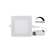 DIM Led панель квадратная встраиваемая 12W 4000K 960Lm Premium