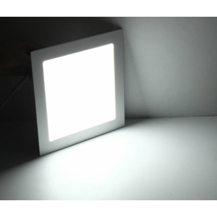 Abcled.ee - DIM LED panel light square recessed 9W 4000K 720Lm