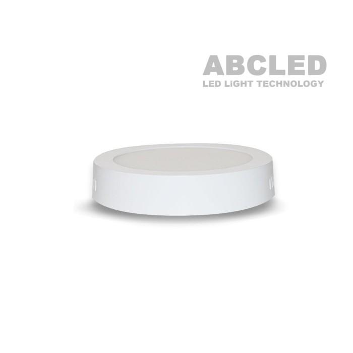 Abcled.ee - Led панель круглая накладная 12W 4000K 720Lm IP20