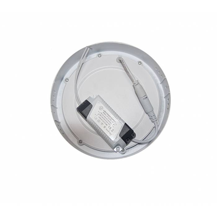 Abcled.ee - LED panel light round surface 12W 4000K 720Lm IP20