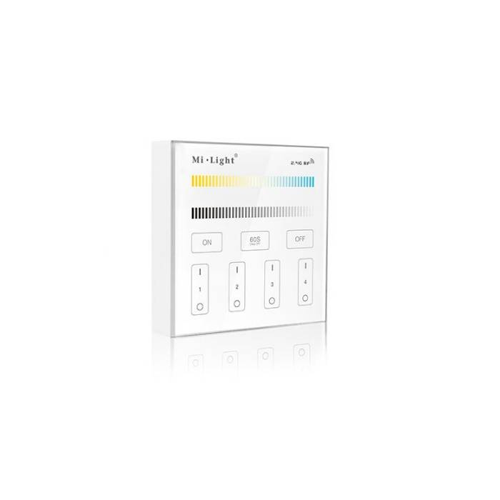 Abcled.ee - Dual White LED smart panel 2.4 GHz 4-Zone Milight