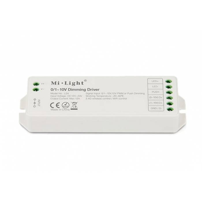 Abcled.ee - 0/1~10V Led контроллер Dimming Driver 12A Wifi