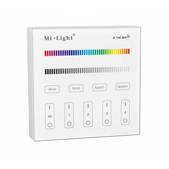 Abcled.ee - RGB/RGBW LED smart panel remote controller 2.4 GHz