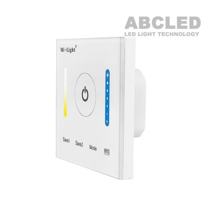 Abcled.ee - Dual White настенный пульт 2.4 GHz 1-Zone 12-24V