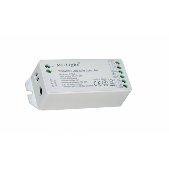 Abcled.ee - RGB+CCT Led controller 15A 12-24V Wifi, 2.4GHz