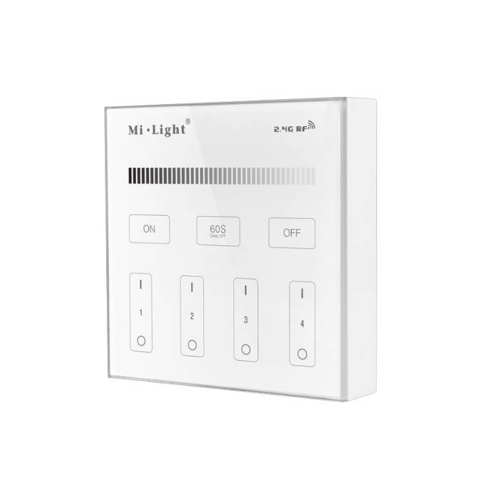 Abcled.ee - DIMMER LED smart juhtimise seinapaneel 2.4 GHz