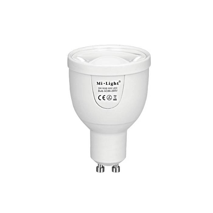 Abcled.ee - 4W Dual White GU10 Led smart bulb Wifi, 2.4GHz