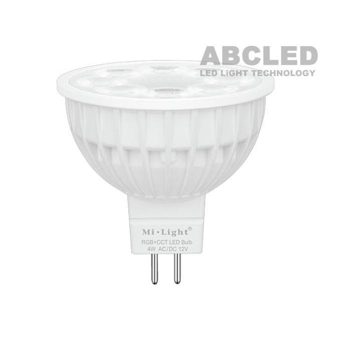 Abcled.ee - 4W RGB+CCT MR16 12V LED smart лампочка Wifi, 2.4 GHZ