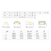 Abcled.ee - LED Лента RGB 5050smd, 60l/m, 14,4W/m, IP20, 12V