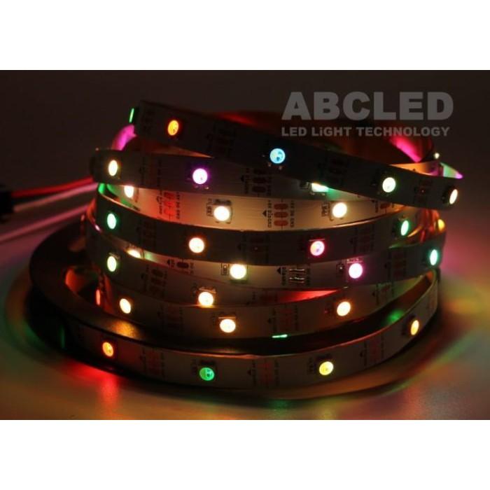 Abcled.ee - SK6812B RGBW LED адресная Лента 5050smd, 60Led/m