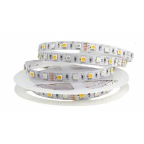 LED Riba RGB+WW 5050smd, 60Led/m, 14,5W/m, IP20, 12V Premium