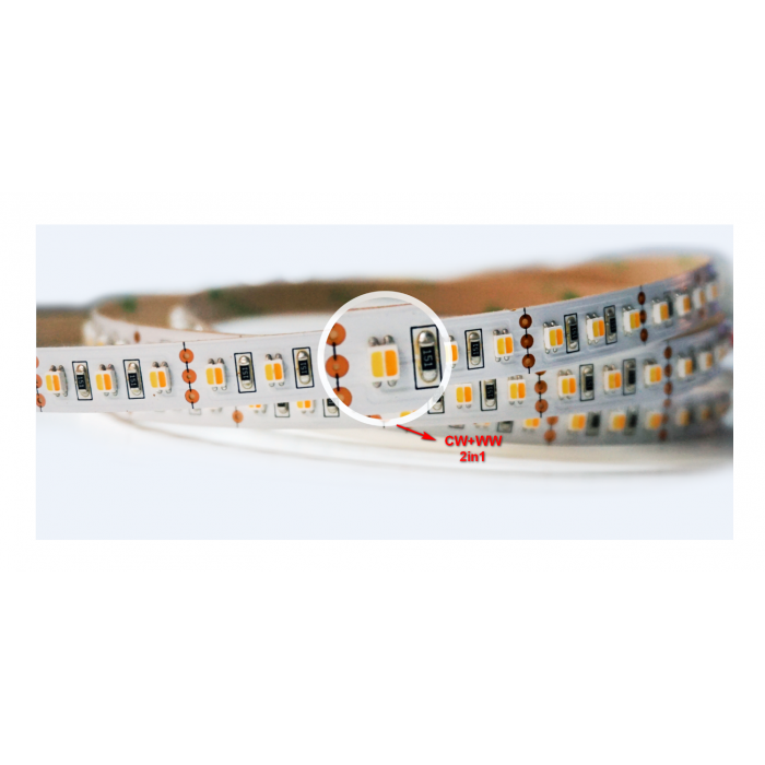 Abcled.ee - LED Strip CW+WW 2in1 3528smd, 120Led/m