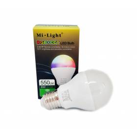 6W RGB+CCT E26 / E27 / B22 LED Light smart pirn Wifi, 2.4 GHZ