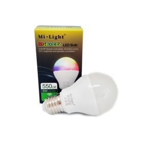 6W RGB+CCT E26 / E27 / B22 LED Light smart pirn Wifi, 2.4 GHZ