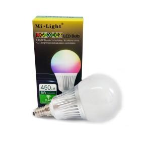 5W RGB+CCT E14 LED Light smart pirn Wifi, 2.4 GHZ