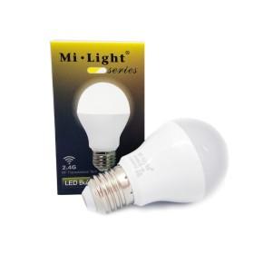 6W Dual White E26 / E27 / B22 LED Light smart pirn Wifi, 2.4 GHZ
