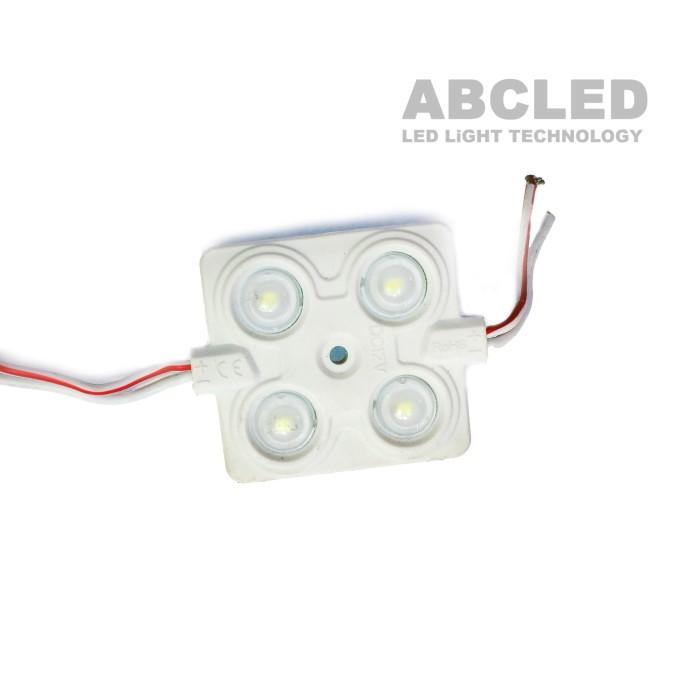 Abcled.ee - LED module 4LED SMD2835 6000K 2.4W IP65 12V