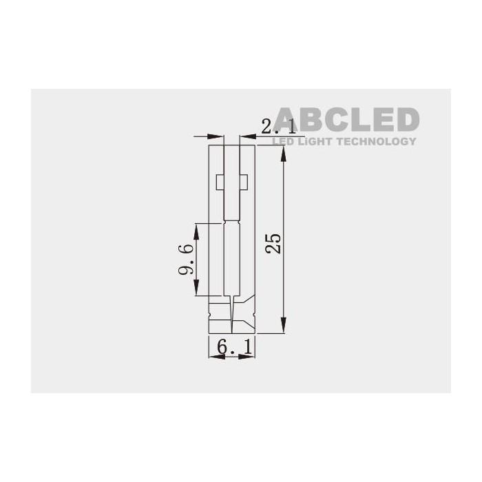 Abcled.ee - Aluminium profile AP2006 recessed