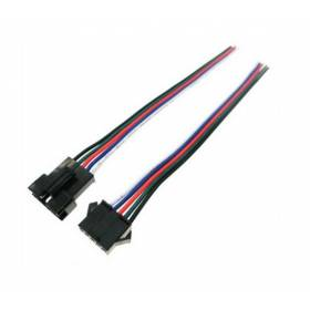 Abcled.ee - 5pin RGBW wire connector Male Female