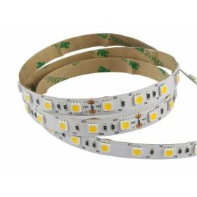 LED Strip 3000k 5050smd, 60Led/m, 14,4W/m, 1200 Lm, IP20, 12V Premium