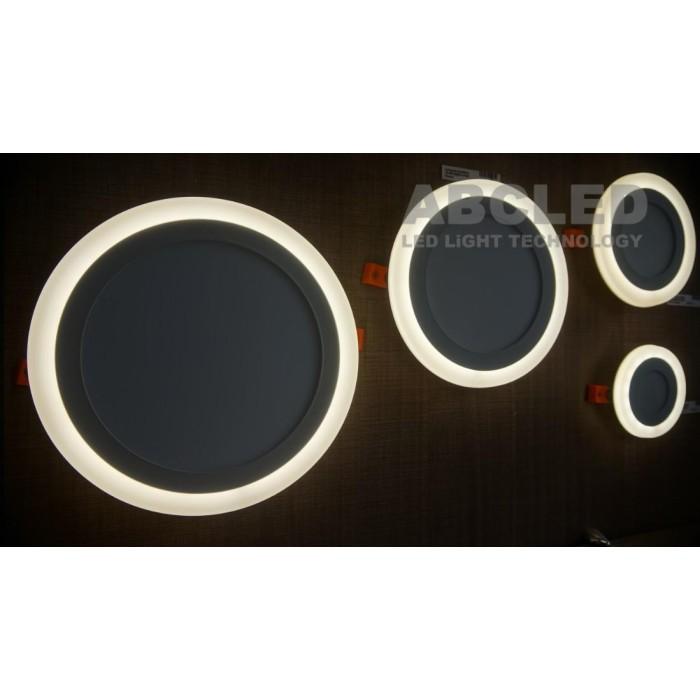 Abcled.ee - LED panel 18W+6W DualWhite 3000K+4100K round