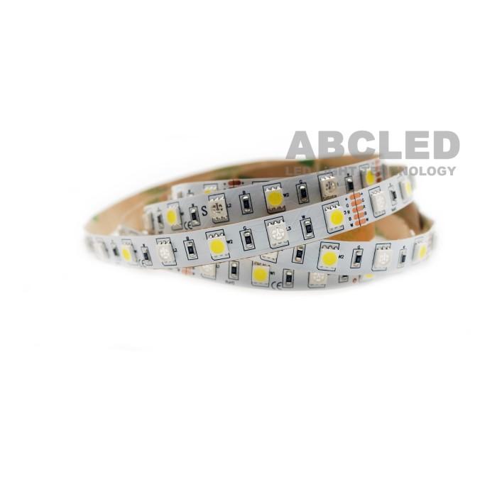 Abcled.ee - LED Лента RGB+W 5050smd, 60Led/m, 14,5W/m, IP20