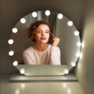 Make up Led light mirror with dimmer