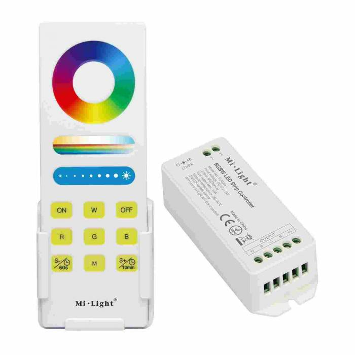 Abcled.ee - Set remote controller RF + RGBW controller 15A