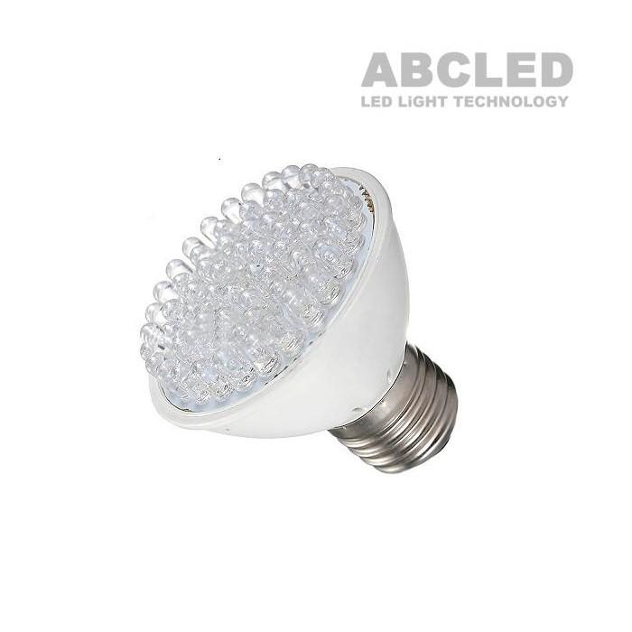 Светодиодная фито лампочка E27 2W 38Led
