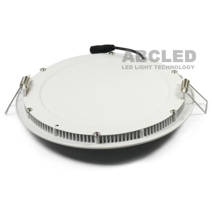 Abcled.ee - Led панель круглая встраиваемая 6W 3000K 480Lm IP20