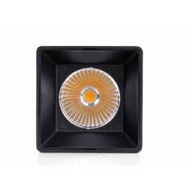 Led track light surface mounted Quad 10W 24° Philips COB